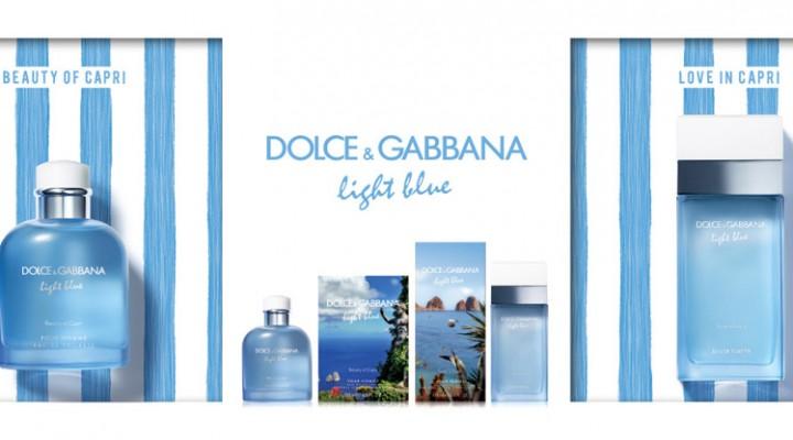 Ново, свежо: обновленные парные ароматы Light Blue от Dolce and Gabbana