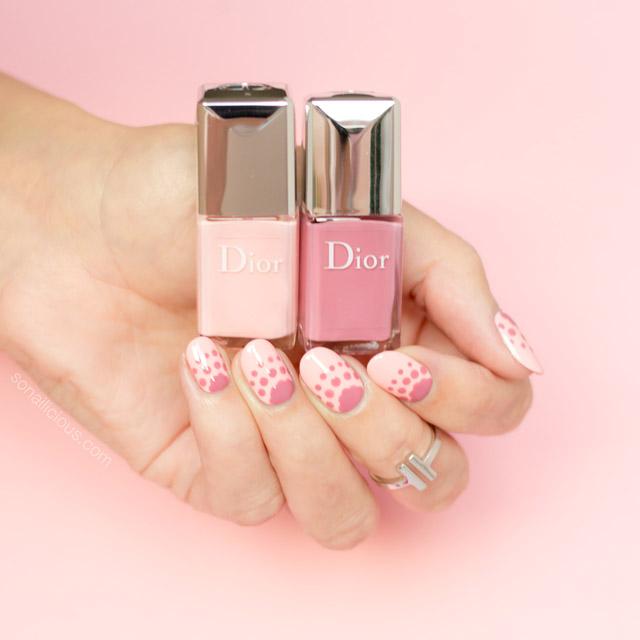 Прямо в точку: каким получается маникюр с лаками из новой коллекции Polka Dots от Dior