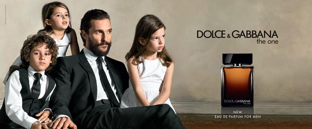 Мэттью МакКонахи в кампании The One от Dolce & Gabban
