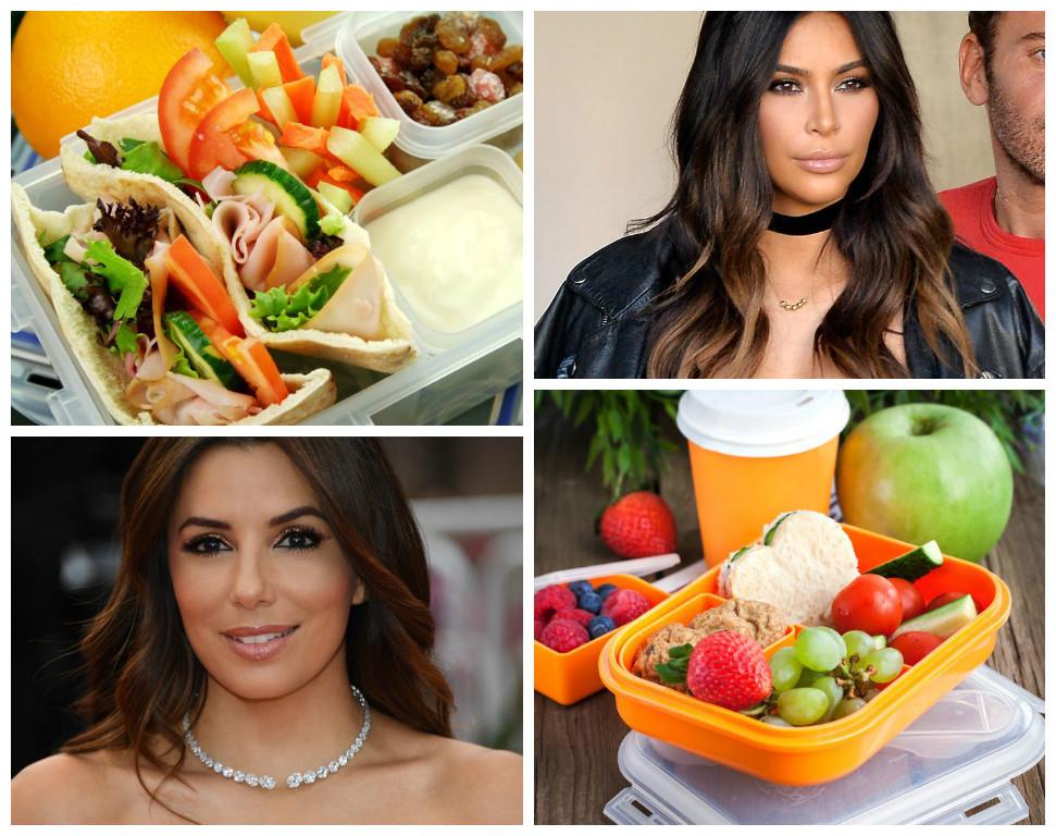 Чем и как питаются звезды: фуд-сервисы, которые выбирают  Ева Лонгория, Бритни Спирс, Ким Кардашьян и Дженнифер Лопес