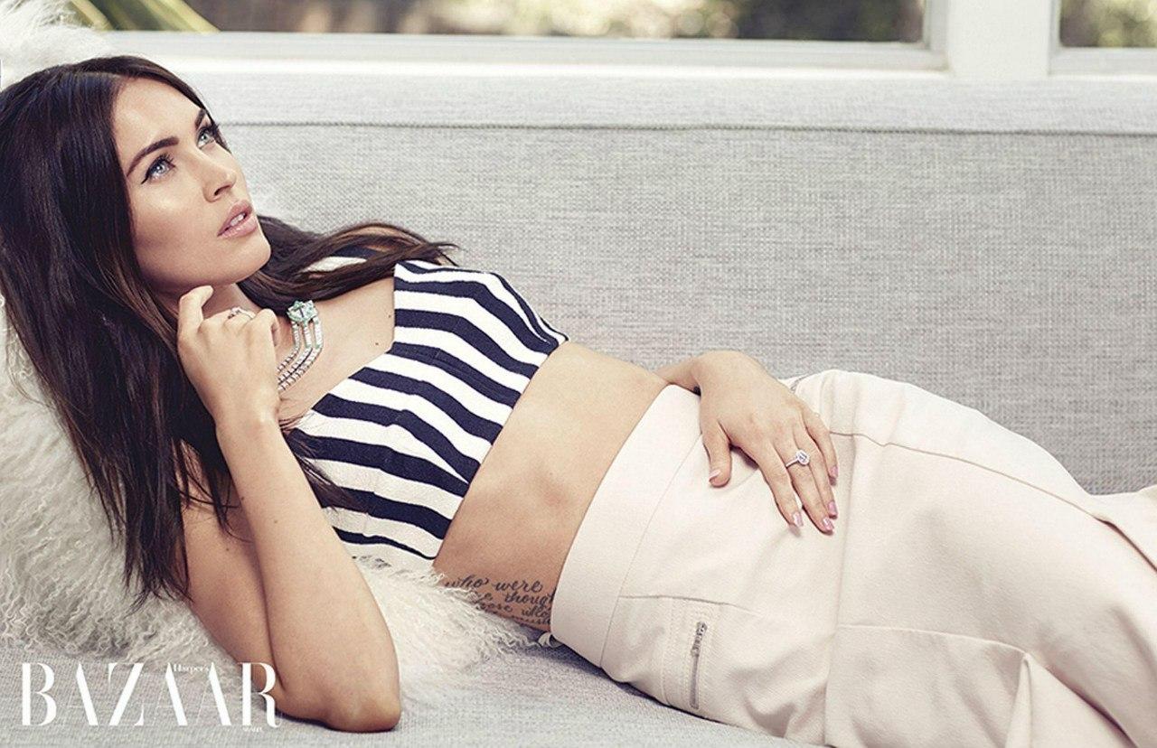 Красотка Меган Фокс покорила новой стильной фотосессией