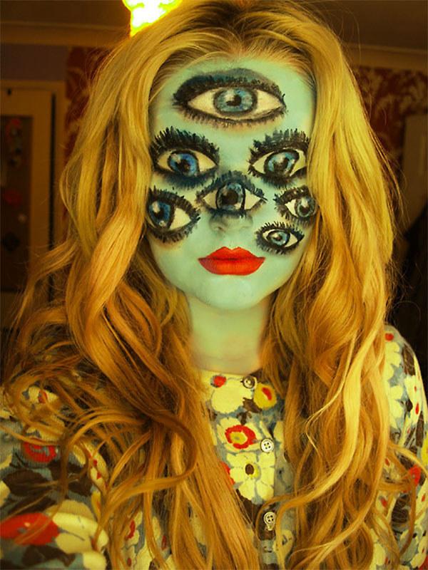 Макияж на Хэллоуин 2014