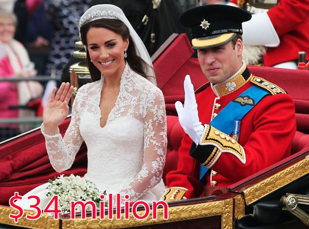 13 звездных свадеб, которые удивили весь мир своим бюджетом