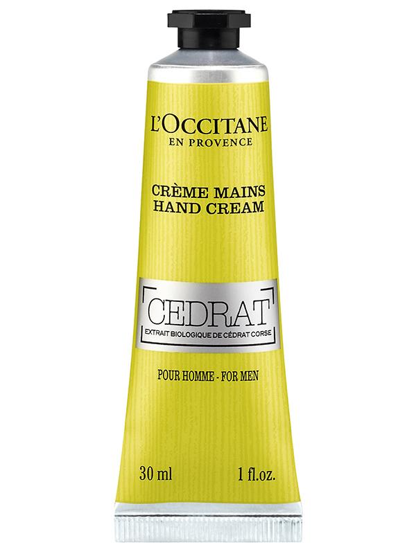 Подарок на 23 февраля: цитрусовые новинки LOccitane для брутальных мужчин