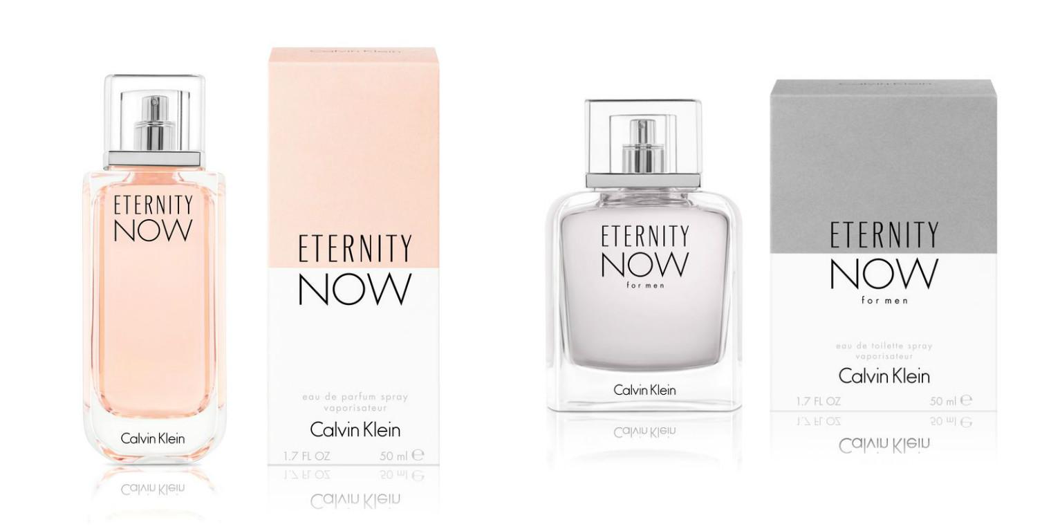 Ароматы Calvin Klein Eternity Now Для Него и для Нее фото