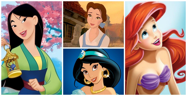 18 раз, когда диснеевские принцессы обманывали нас своими прическами и макияжем