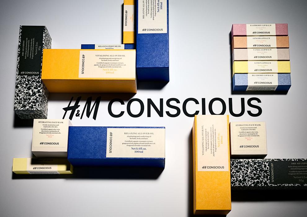 Красота без вреда: HM выпустят линию органической косметики Conscious