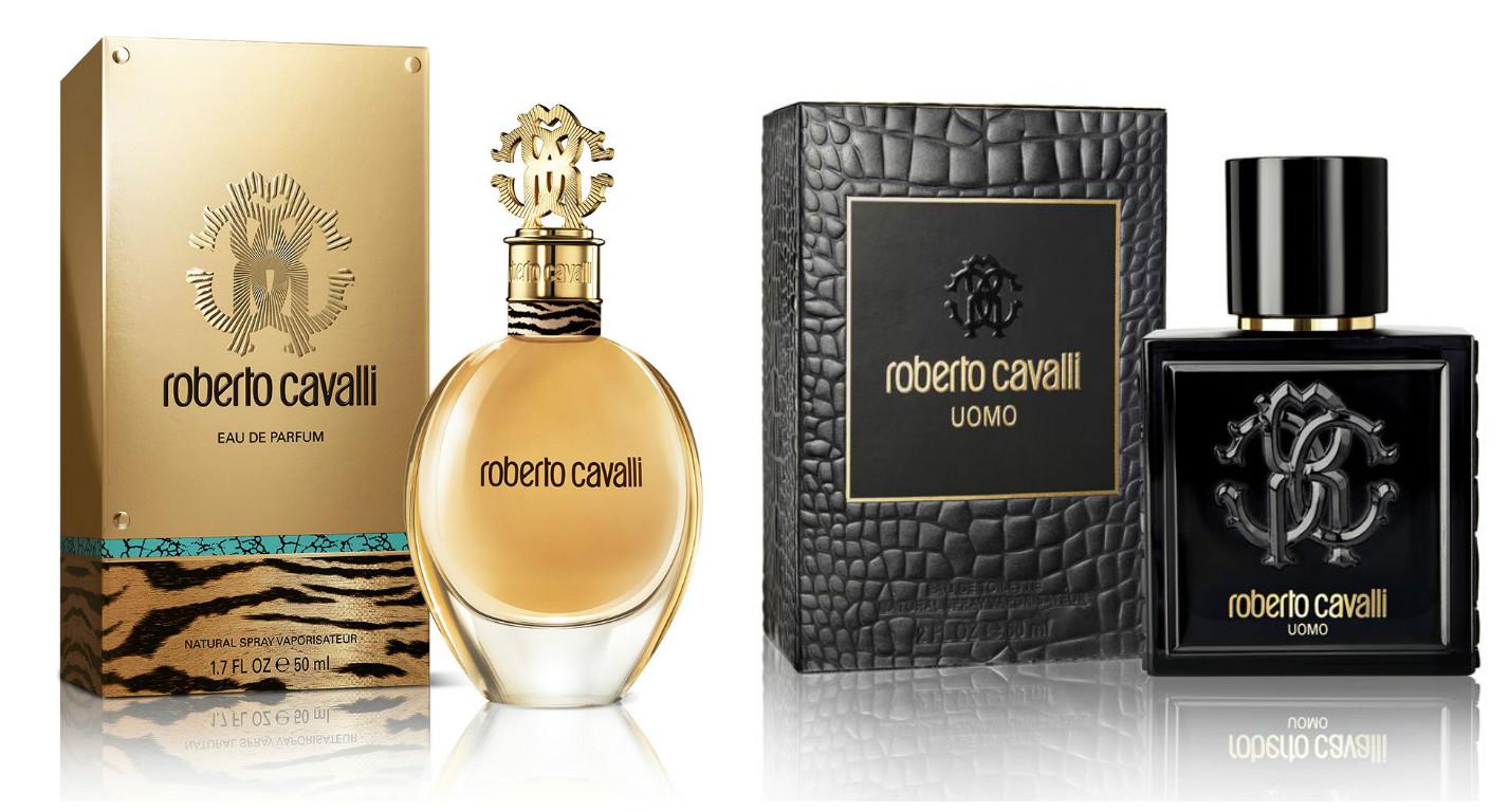 Ароматы Roberto Cavalli Eau de Parfum и Roberto Cavalli Uomo фото