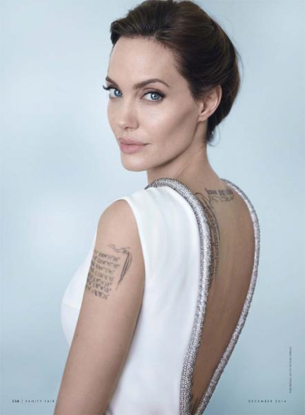 Модный скандал: Дженнифер Энистон украла платье Анджелины Джоли