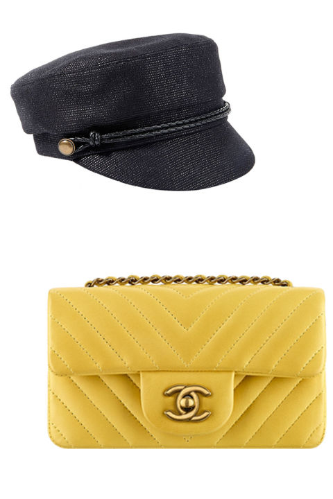 Всем по паре: выбираем стильный головной убор под сумочку