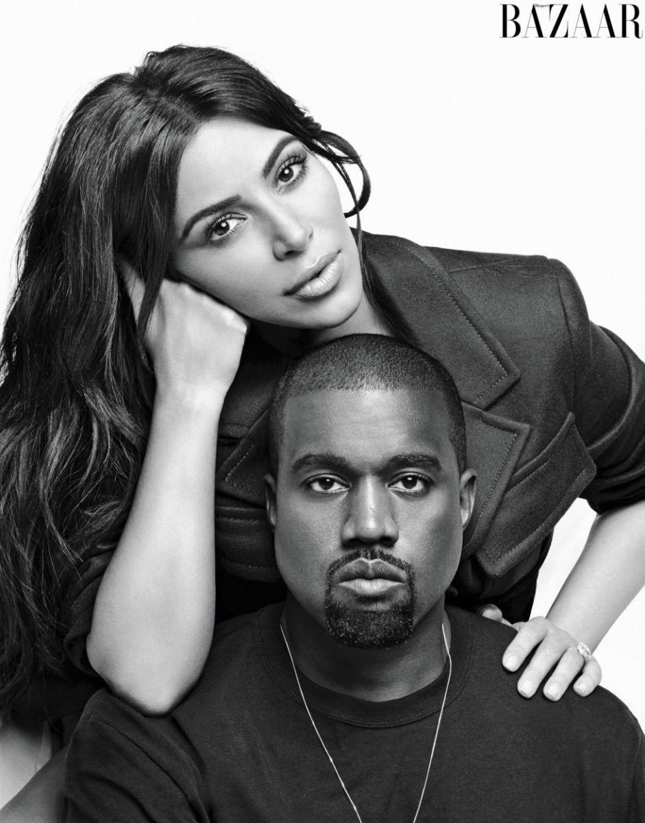 Ким Кардашьян и Кэни Уэст фото 2016