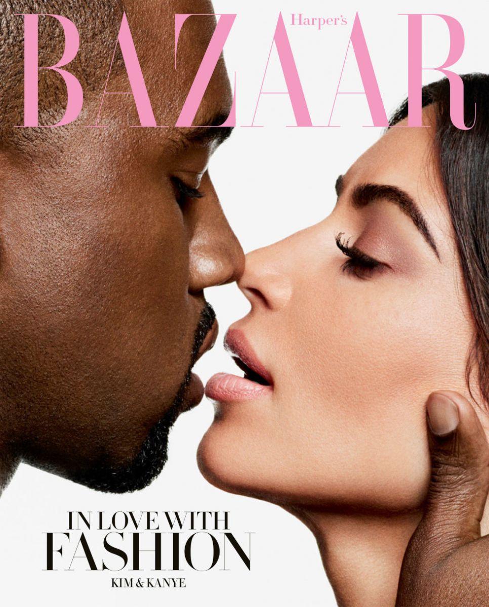 Ким Кардашьян и Кэни Уэста показали любовь фото