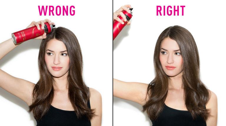 Полезно: основные ошибки в использовании средств для волос
