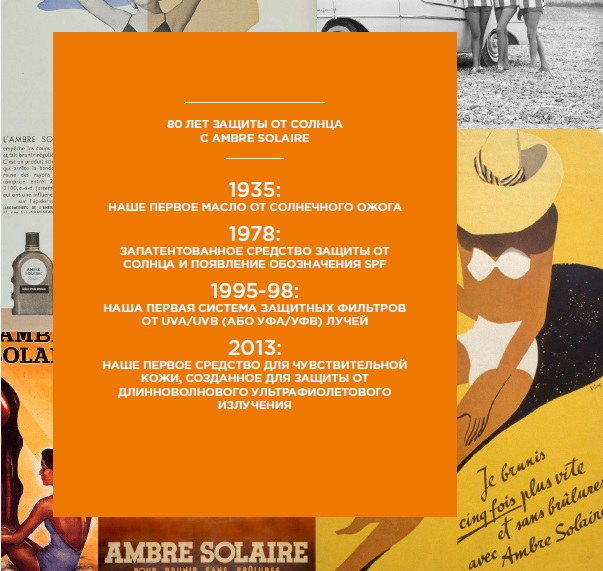 Garnier Ambre Solaire солнцезащитные средства