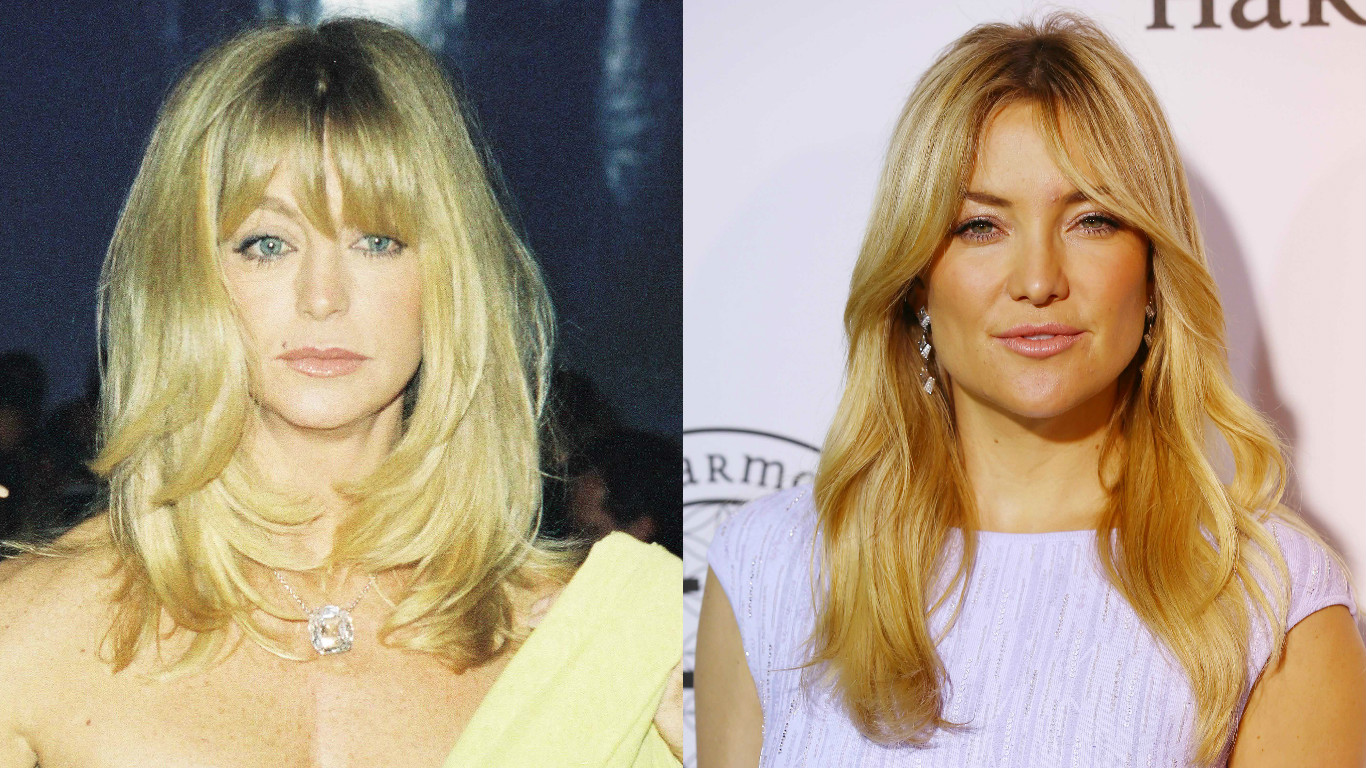 Звездные дочери похожие на своих знаменитых матерей (ФОТО)