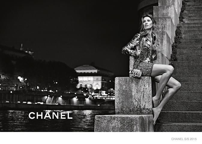 Босоногая красавица: Жизель Бундхен показала наряды от Chanel