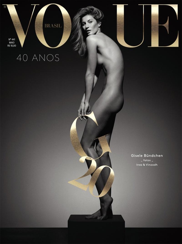 Naked girl: Жизель Бундхен обнажилась в честь своей карьеры