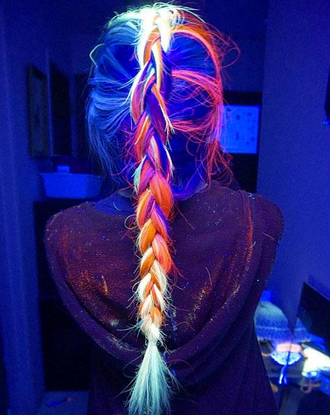 Сияй, моя головонька: неоновые волосы стали хитом Instagram!