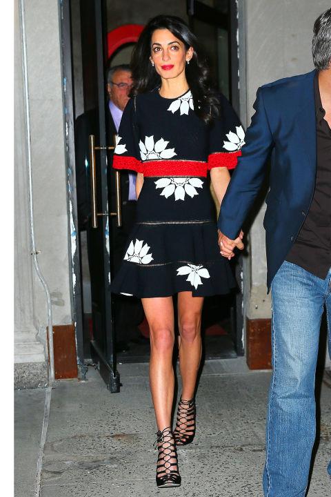 Звездный стиль: новые образы Амаль Клуни