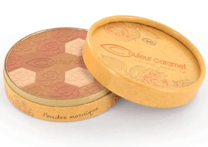 органическая пудра для лица от Couleur Caramel
