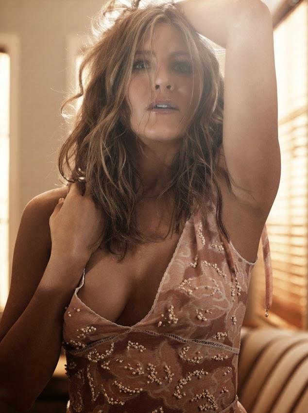 Дженнифер Энистон снялась в фотосессии и раскрыла секреты красоты