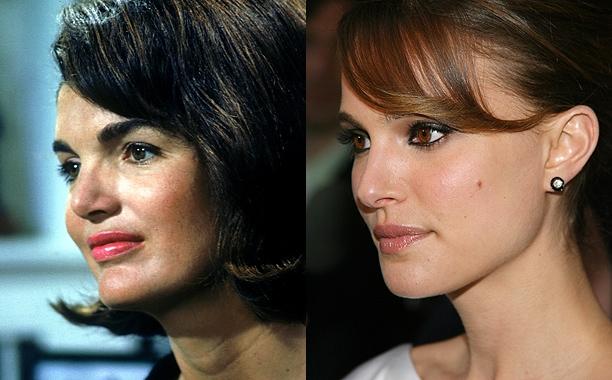 Образ дня: Натали Портман в Christian Dior в роли Джеки Кеннеди