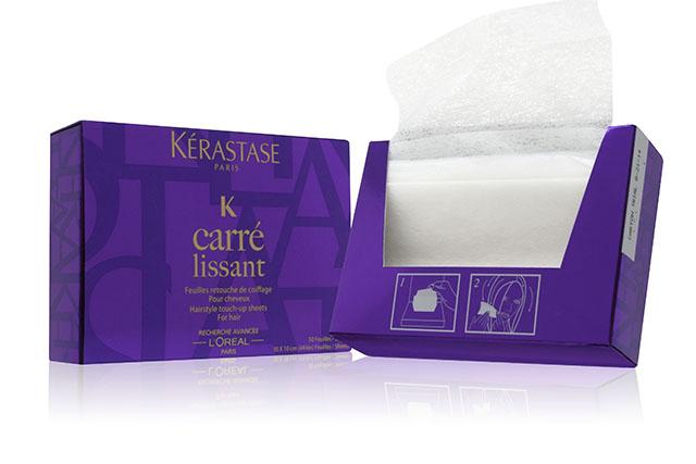 разглаживающие салфетки для волос Kerastase Carre Lissant