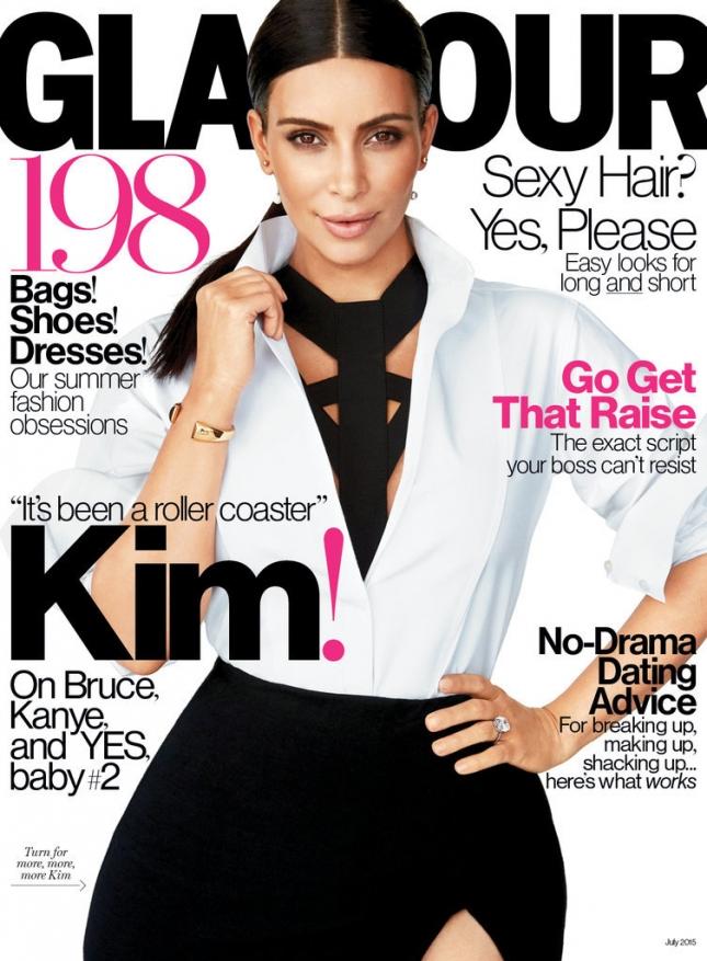 Беременная Ким Кардашьян дала трогательное интервью о семье и материнстве