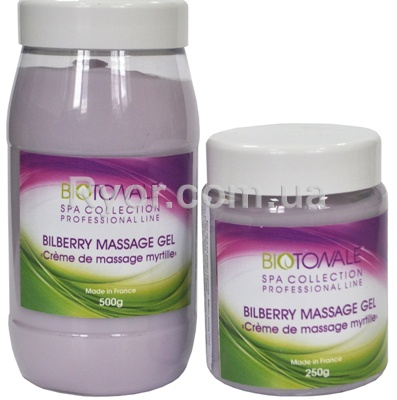 Bilberry massage cream