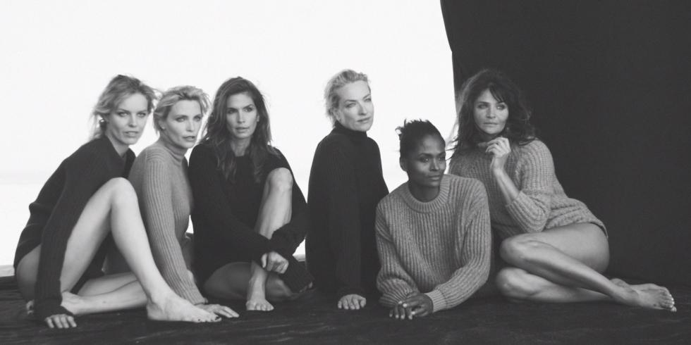 Супермодели 90-ых воссоединяются! Самый горячий фотопроект года (ФОТО)