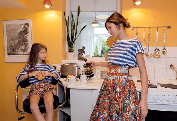 Одна красота на двоих: Бьянка Балти и ее дочь в трогательной фотосессии