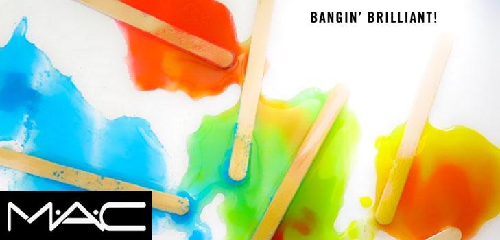 Очень много, очень ярко: самые смелые оттенки в новой коллекции макияжа Bangin Brilliant от MAC