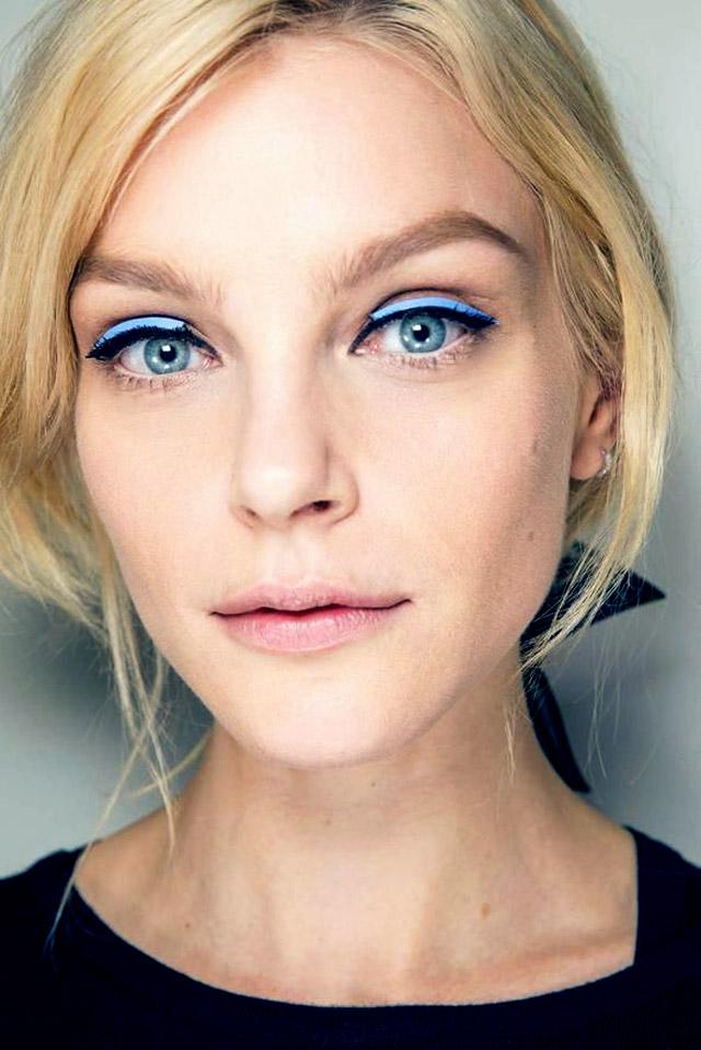 3 золотых правила макияжа с яркими тенями