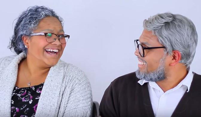 Чудеса макияжа: визажист превратил пары в их пожилые копии