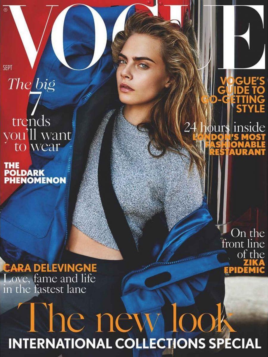 Кара Делевинь снялась для Vogue и рассказала о самом сокровенном (ФОТО)