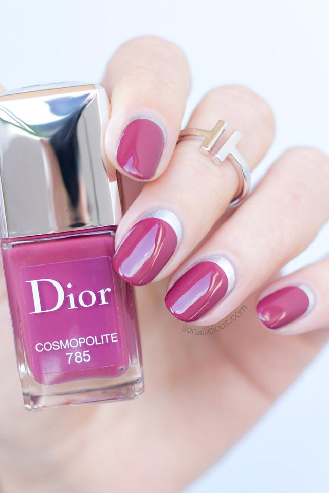 лунный маникюр и 8 идей для нейл-арта коллекцией с Dior Cosmopolite
