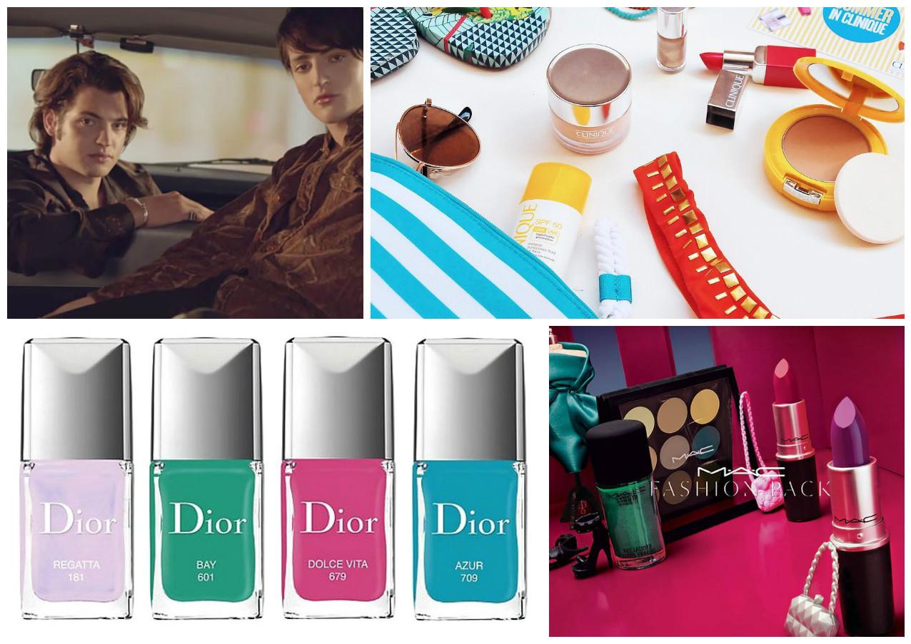 Что нового: мужская коллекция макияжа от MAC, солнцезащитные новинки Clinique Mineral Sunscren, круизная коллекция Dior и натуральные дезодоранты от Weleda