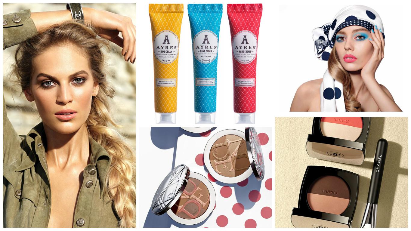 Что нового: летняя коллекция Dior и Chanel, матовые помады Dolce Matte Lipsticks, помады Ceramide Ultra Lipstick от Elizabeth Arden, ароматные кремы для рук AYRES