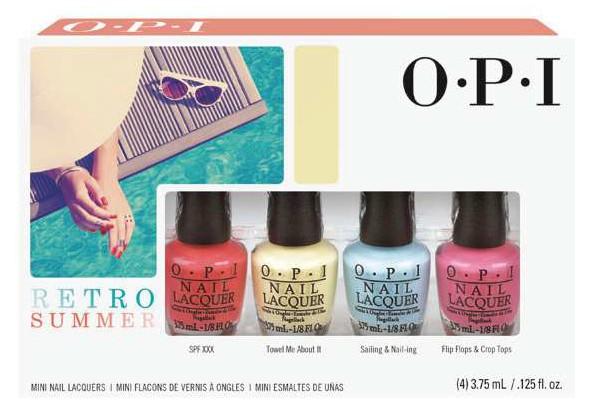 Лето в стиле ретро: яркая коллекция лаков OPI Retro Summer Collection 2016