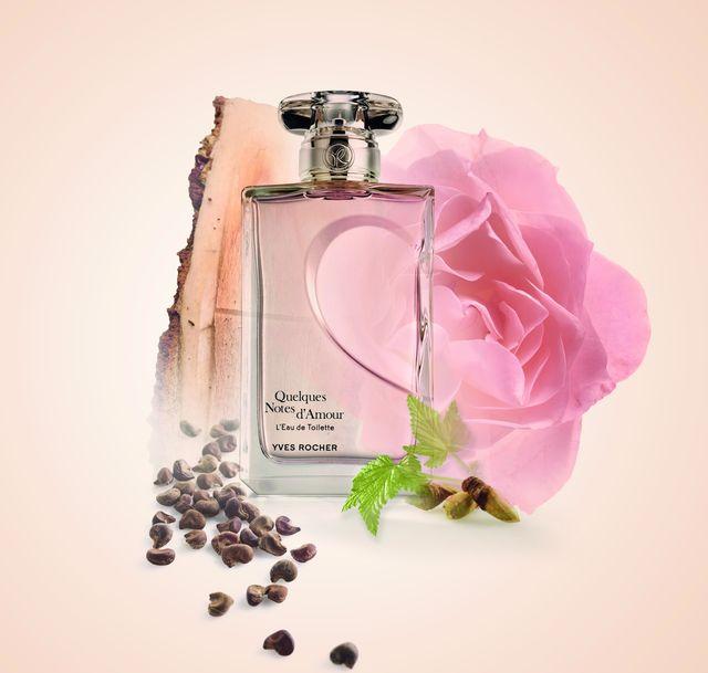 новый романтичный аромат Quelques Notes d'Amour от Yves Rocher