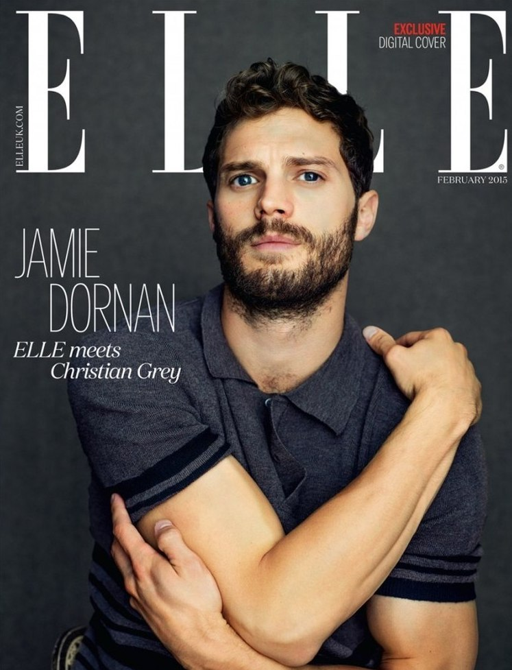 Сексуальный Джейми Дорнан стал украшением глянцевого журнала