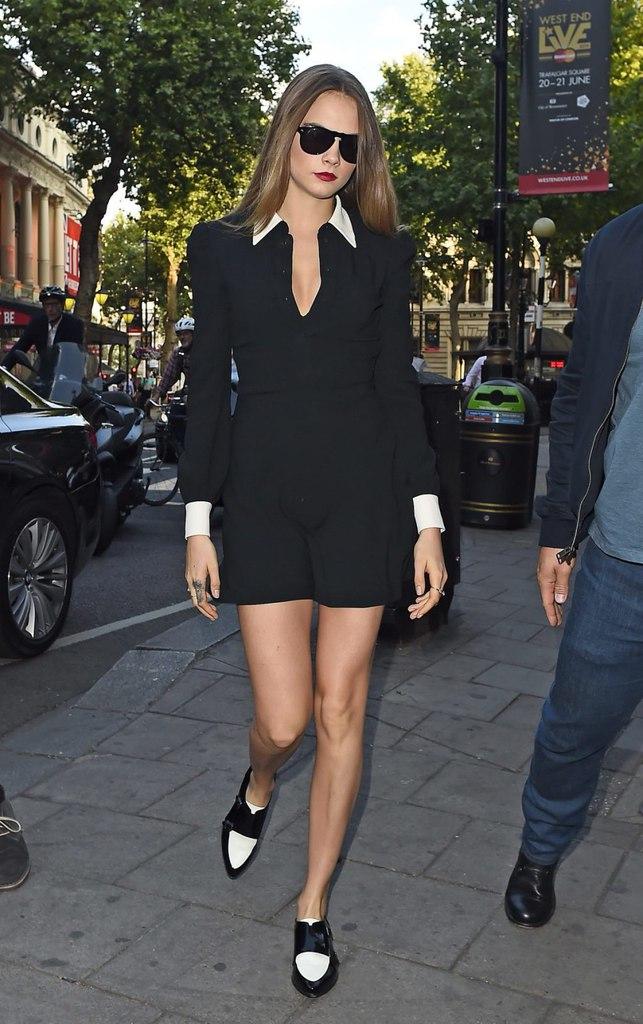 Fashion: Кара Делевинь покорила сногсшибательным стилем