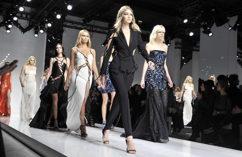 Atelier Versace Haute Couture весна-лето 2016 фото
