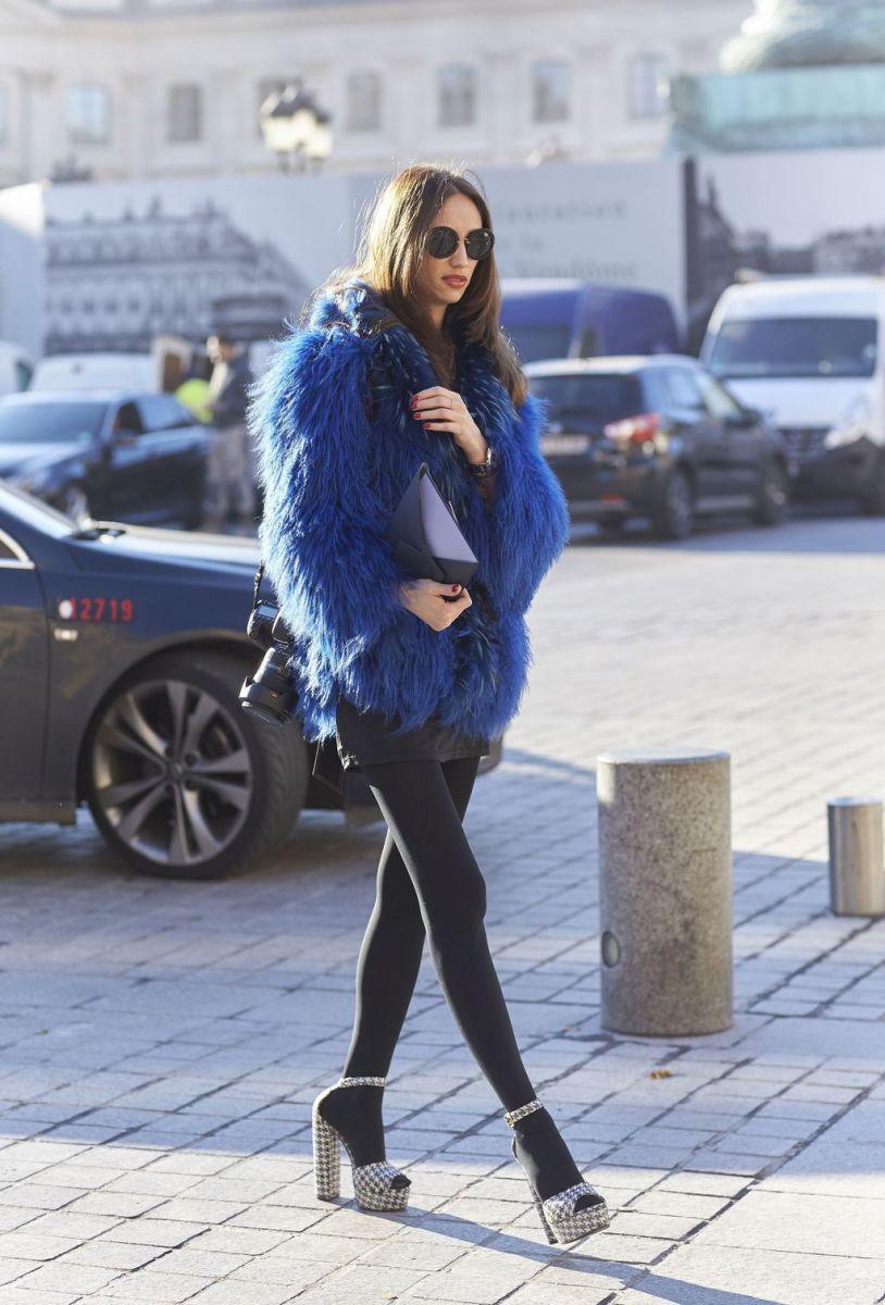 Street style Недели Высокой моды в Париже фото