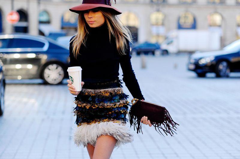 17 лучших street style образов Недели Высокой моды в Париже фото