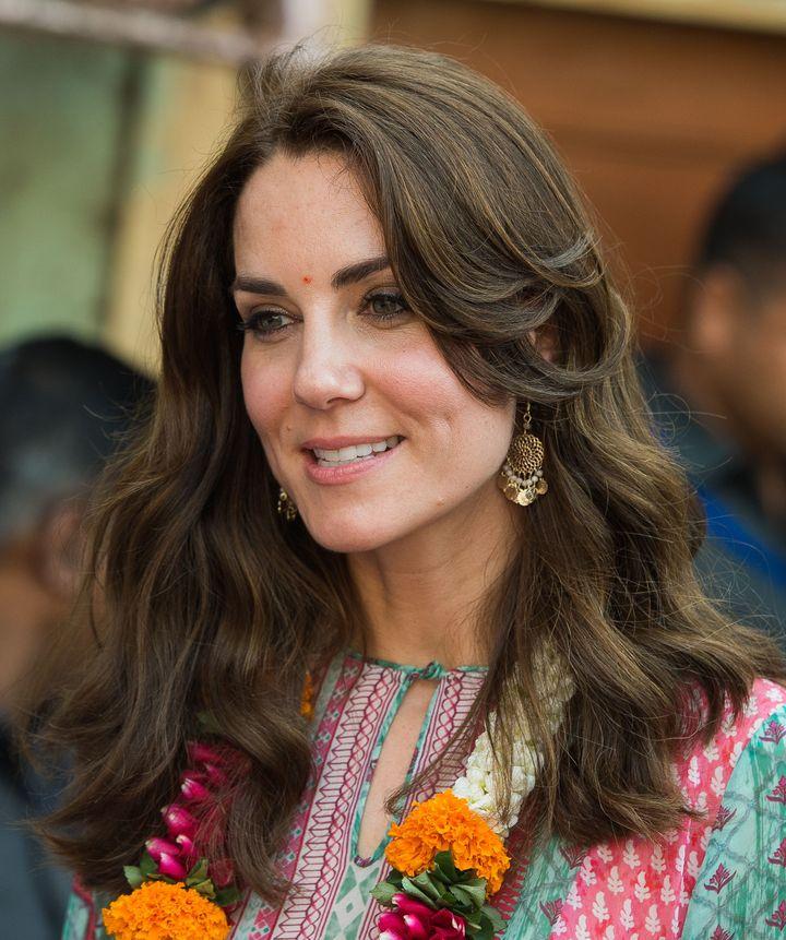 Кейт Миддлтон фото 2016 индия