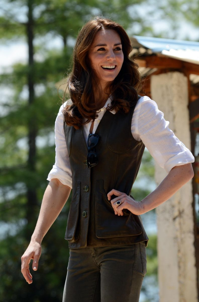 Кейт Миддлтон признана самой стильной британкой (ФОТО)