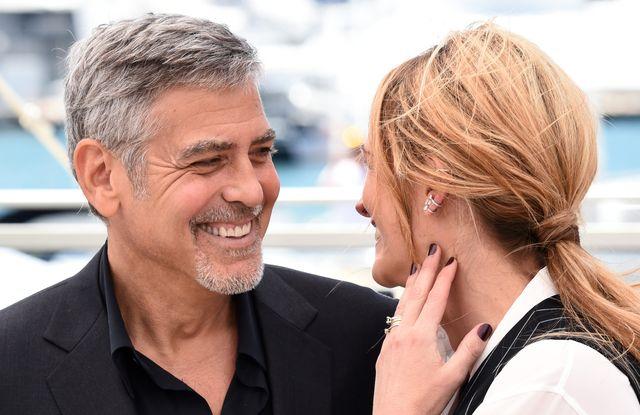 """Канны-2016: элегантная Джулия Робертс и Джордж Клуни на фотоколле """"Финансового монстра"""" фото"""