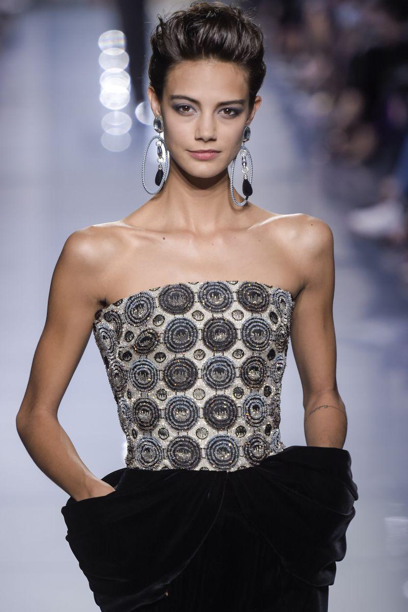 Истинная леди: бьюти-образы показа Giorgio Armani Prive на Неделе моды в Париже