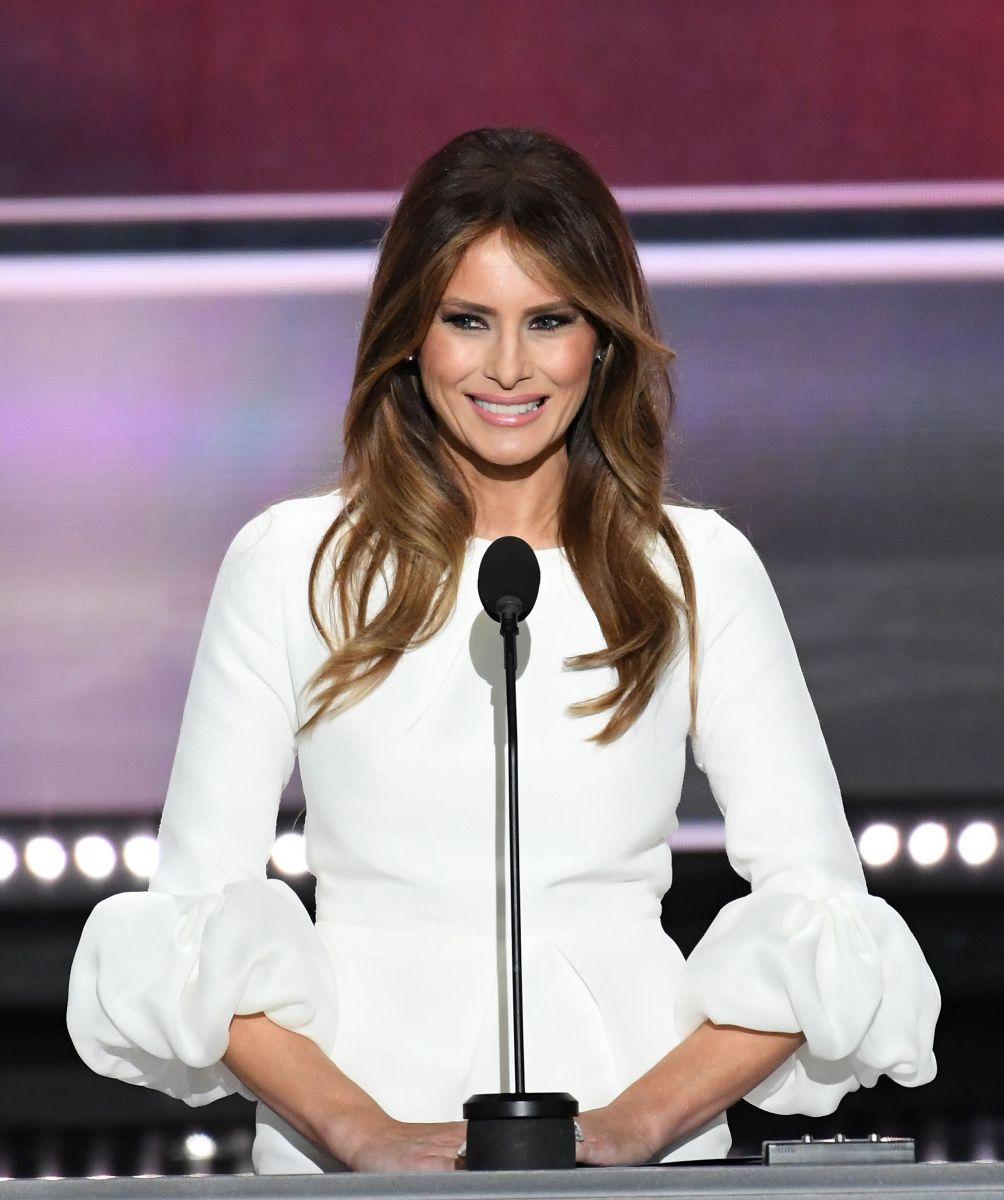Записываем: Парикмахер Мелании Трамп рассказал о секретах идеальной укладки первой леди Мелания Трамп волосы, Мелания Трамп